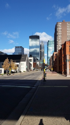 The conference was held in beautiful downtown Minneapolis.